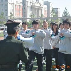 12.9 12级学生军训、汇演